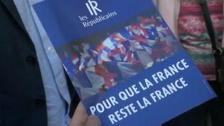 Tract Les Républicains, juin 2018. (FRANCE 2)