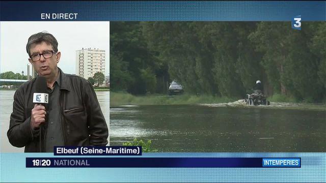 Inondations : la région de Rouen et d'Elbeuf en vigilance rouge