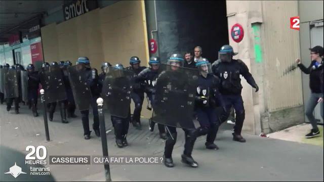Casseurs : qu'a fait la police lors des incidents du 14 juin ?