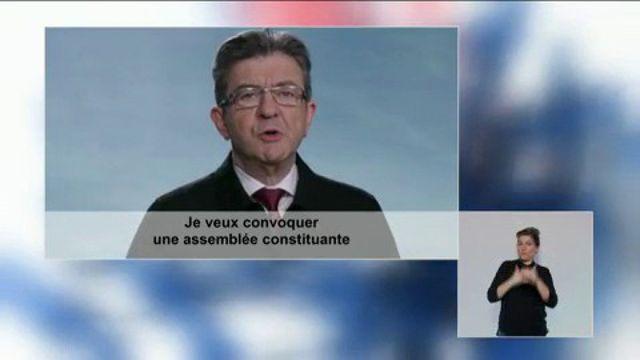 Clip de campagne de Jean-Luc Mélenchon