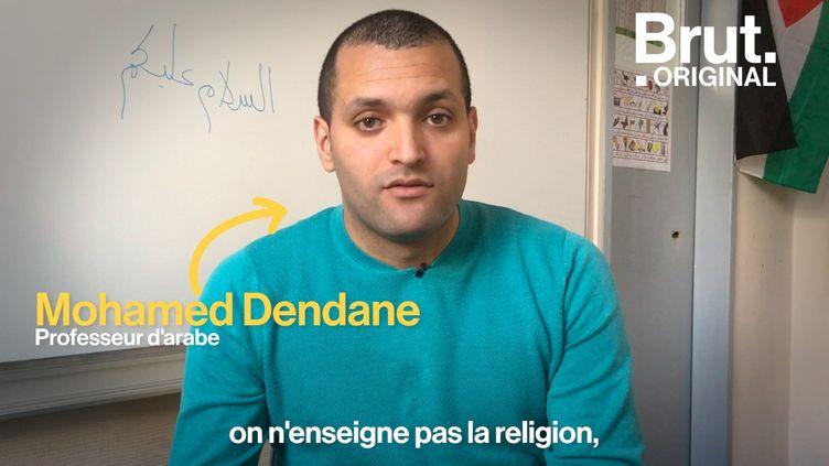 """VIDEO. """"Il y a un intérêt évident à l'apprentissage de l'arabe à l'école"""" : ce collège parisien propose des cours d'arabe (BRUT)"""