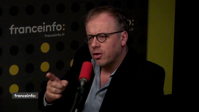 Christophe Deloire (Reporters sans frontières) le 5 janvier 2017. (FRANCEINFO / RADIOFRANCE)