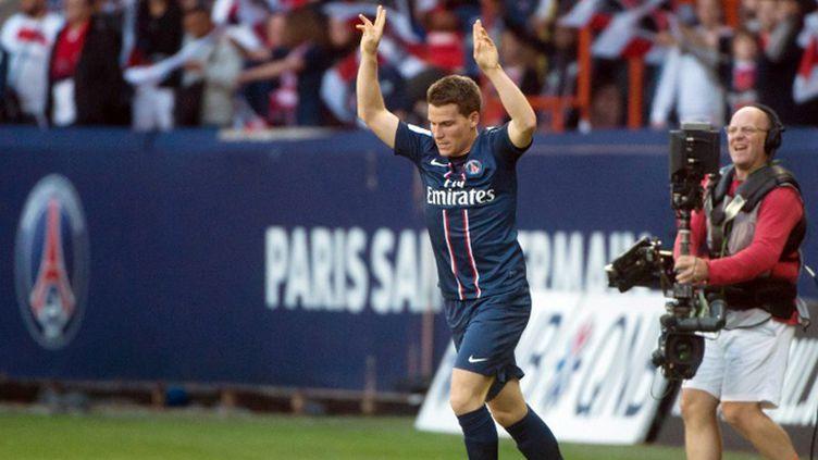 Kevin Gameiro et Lorient joueront Brest en Coupe de la Ligue (BERTRAND LANGLOIS / AFP)