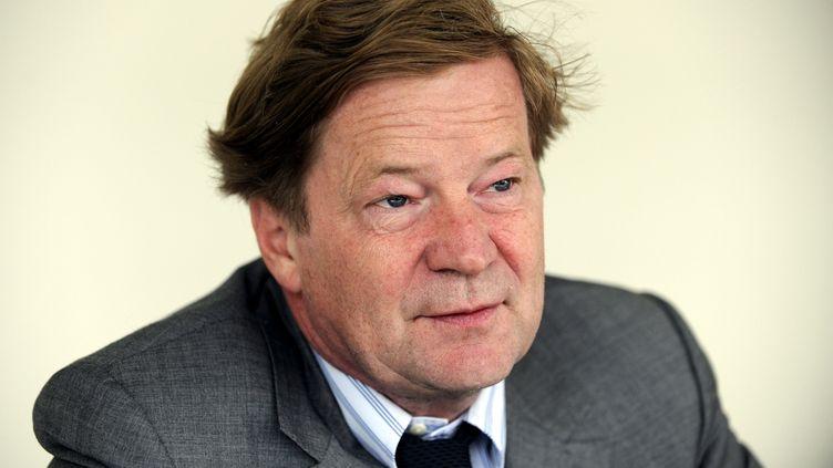 Maurice Lantourne, avocat de Bernard Tapie, le 9 septembre 2009. (MAXPPP)