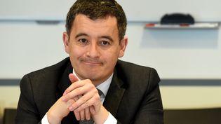 Le ministre de l'Action et des Comptes publics lors d'une réunion à la direction générale des Finances publiques, le 29 mars 2018. (ERIC PIERMONT / AFP)