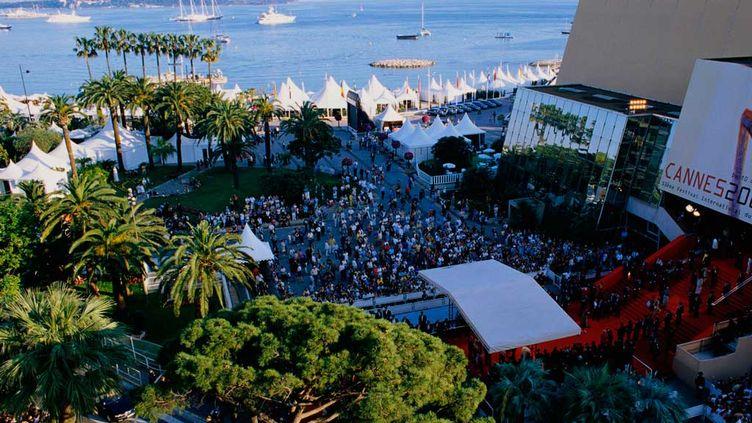 (Le Palais des festivals de Cannes. ©Owen Franken/Corbis)