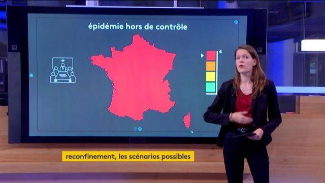 Coronavirus : les quatre scénarios envisagés par le gouvernement