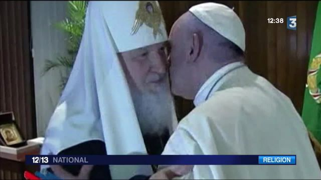 Une rencontre historique entre l'Église catholique et orthodoxe