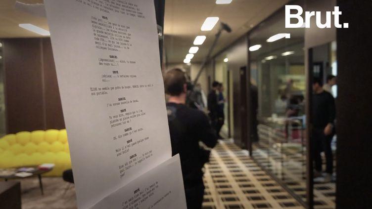 VIDEO. Dans les coulisses du tournage de la série Dix pour cent (BRUT)