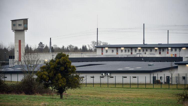 Le centre pénitentiaire de Condé-sur-Sarthe, le 6 mars 2019. (JEAN-FRANCOIS MONIER / AFP)