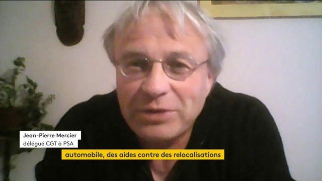 Crise économique : «C'est aux milliardaires et aux actionnaires de mettre la main à la poche», estime Jean-Pierre Mercier (CGT)