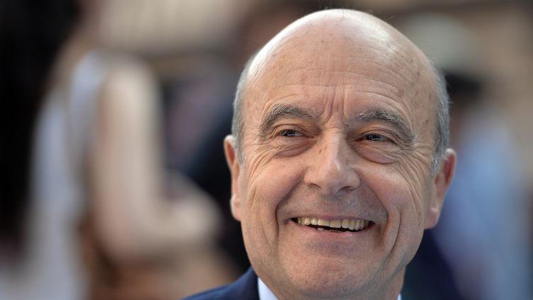 L'ancien Premier ministre Alain Juppé, le 22 avril 2015 à Strasbourg (Bas-Rhin). (PATRICK HERTZOG / AFP)