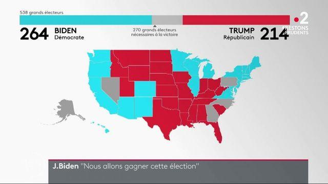 Présidentielle américaine : Joe Biden en bonne voie pour être élu