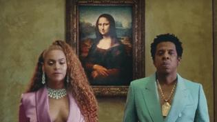 Capture d'écran du clip de Beyoncé et Jay-Z. (CAPTURE ECRAN / FRANCEINFO)