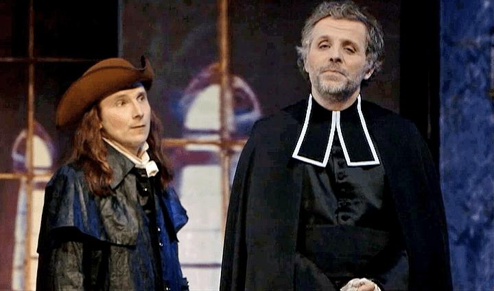 """Stéphane Guillon et Lorànt Deutsch dans """"Le Système""""  (France 2 / Culturebox)"""