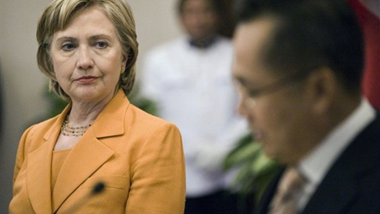 Hillary Clinton à Bangkok (Thaïlande) le 21 janvier 2009 (© AFP PHOTO/NICOLAS ASFOURI)