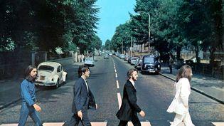"""Détail de la pochette de l'album """"Abbey Road"""" des Beatles de 1969. (UNIVERSAL MUSIC CATALOGUE)"""