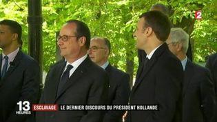 Esclavage : le dernier discours du président Hollande (FRANCEINFO)
