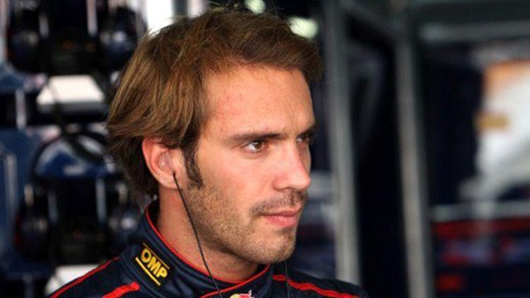 Jean-Eric Vergne avant le départ (Toro Rosso)