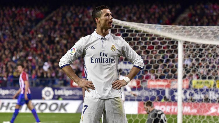Le joueur du Real Madrid Cristiano Ronaldo (GERARD JULIEN / AFP)