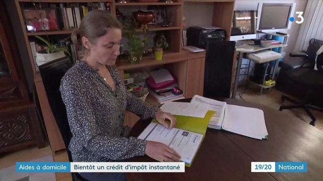 Aides à domicile : bientôt un crédit d'impôt instantané