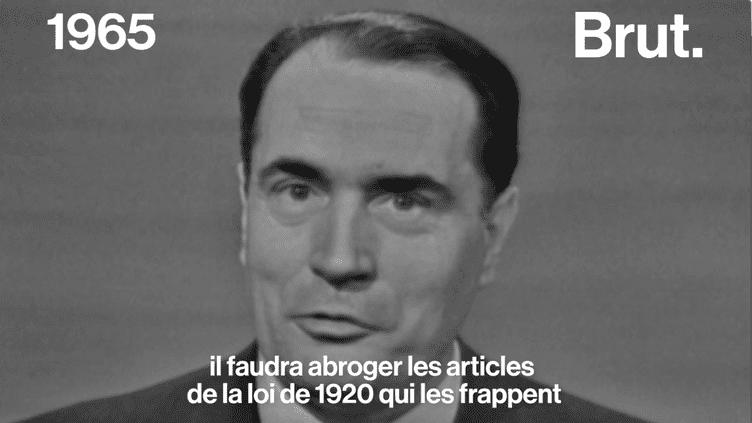 Quand François Mitterrand défendait la pilule (BRUT)