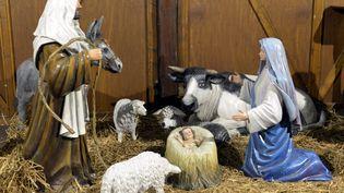 Une crèche de Noël, en Lorraine, en 2013. (  MAXPPP)