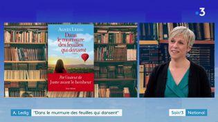 Agnès Ledig et son nouveau roman (France 3)