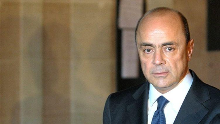 Pierre Falcone, le 6 octobre 2008 à Paris. (AFP/MARTIN BUREAU)