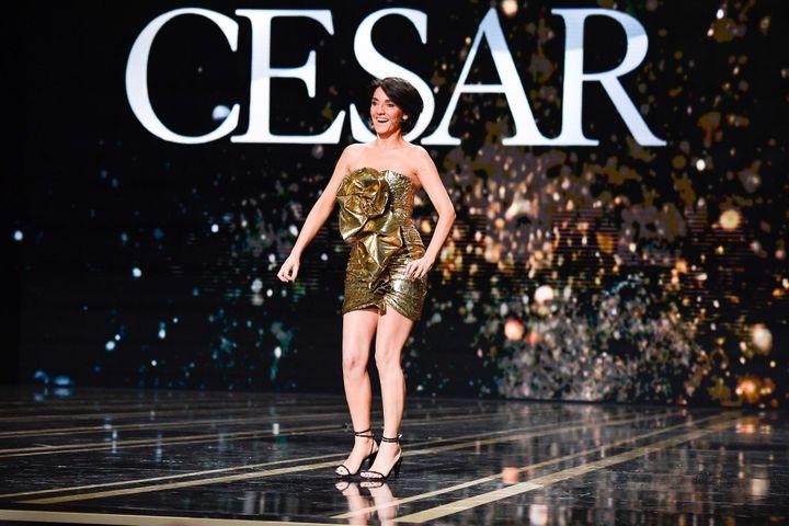 L'humoriste Florence Foresti à la 45e cérémonie des César. (PIERRE VILLARD/SIPA)
