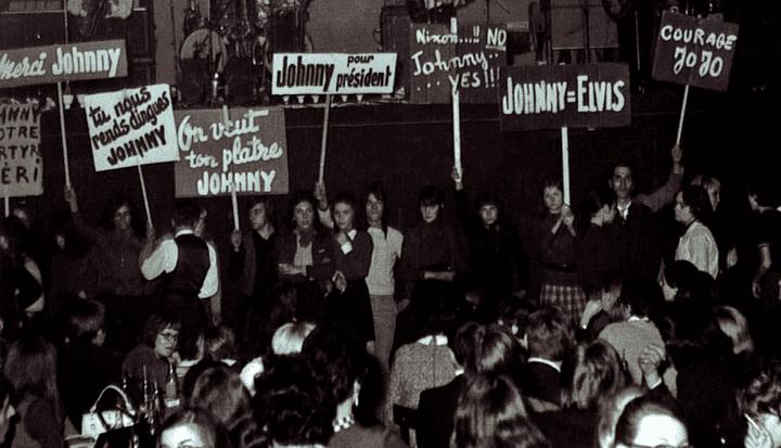 Fans de Johnny dans les années 1960  (Mario Gurrieri)