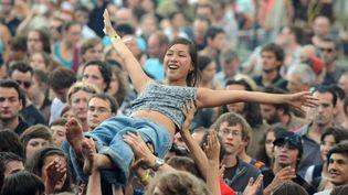 Le festival Beauregard près de Caen  (Jean Yves Desfoux / PHOTOPQR /OUEST FRANCE)