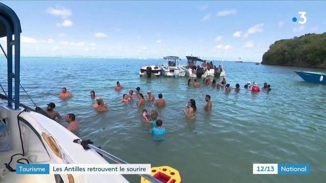Tourisme : les touristes affluent aux Antilles pour les fêtes de fin d'année