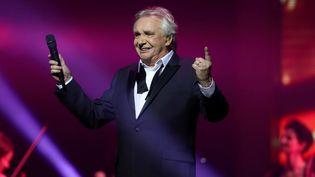 Michel Sardou lors de son dernier concert, le 12 avril 2018  (Jean-Baptiste Quentin / PHOTOPQR/LE PARISIEN/MAXPPP)