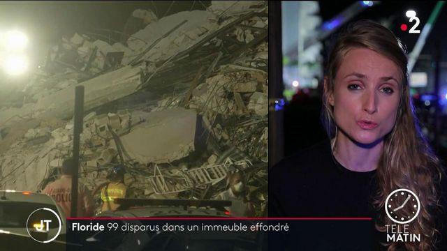 États-Unis: 99 disparus activement recherchés à la suite de l'effondrement d'un immeuble en Floride