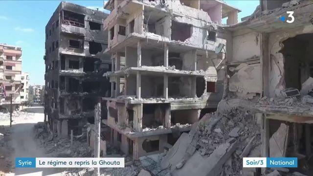 Syrie : les rebelles ont perdu la Ghouta
