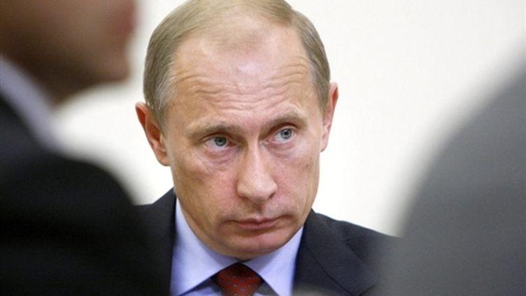 Le premier ministre russe, Vladimir Poutine (11-8-2008) (AFP - RIA Novosti)