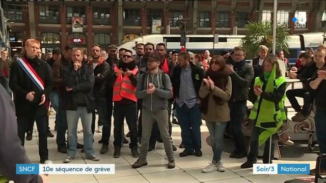 SNCF : dixième séquence de grève, le mouvement s'effrite