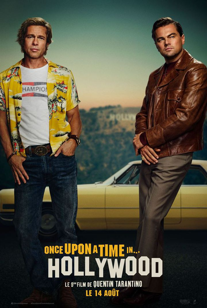 L'affiche de Once Upon a Time... in Hollywood de Quentin Tarantino (Sony Pictures Releasing France)