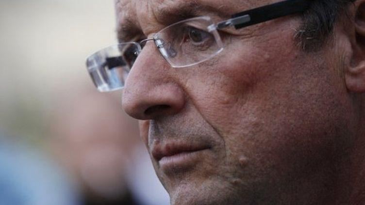 François Hollande (AFP PHOTO / THOMAS SAMSON)