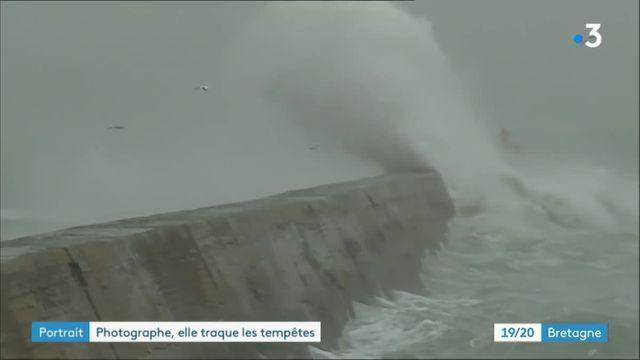 La photographe Gaëlle de Trescadec traque les tempêtes