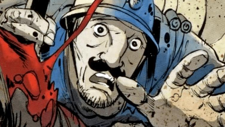 """""""Aio Zitelli"""" de Frédéric Bertocchini, les soldats corses au coeur de la première guerre mondiale  (DR)"""