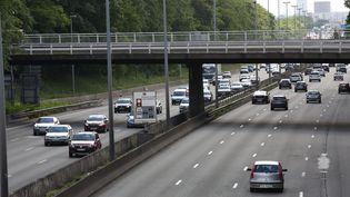 L'autoroute A1, à proximité du Bourget (Seine-Saint-Denis), le 2 juin 2015. (MAXPPP)