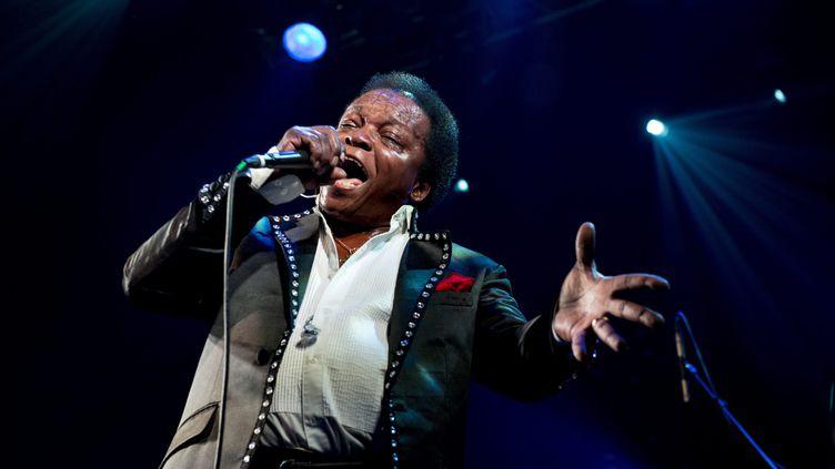 """Lee Fields, 68 ans, sort son nouvel album """"It Rains Love"""" vendredi. (DAFYDD OWEN / MAXPPP)"""