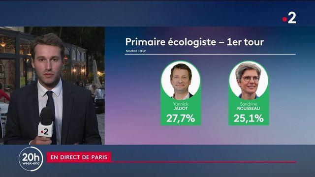 Présidentielle 2022 : un duel Jadot-Rousseau au second tour des primaires