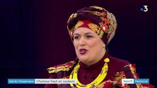 L'humoriste Samia Orosemane (France 3)