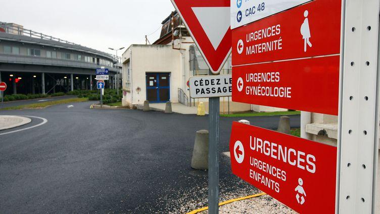 Les urgences de l'hôpital de Perpignan (Pyrénées-Orientales), le 25 novembre 2014. (  MAXPPP)