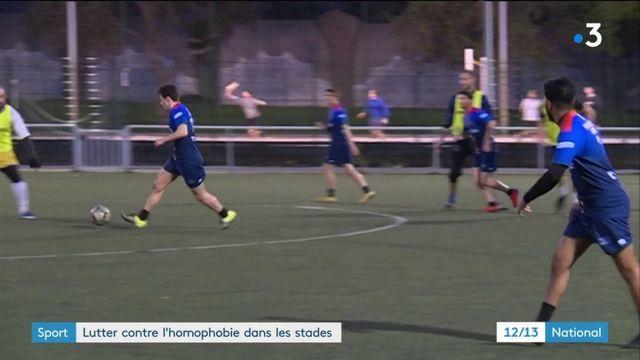 Homophobie : le football lance la lutte contre les discriminations