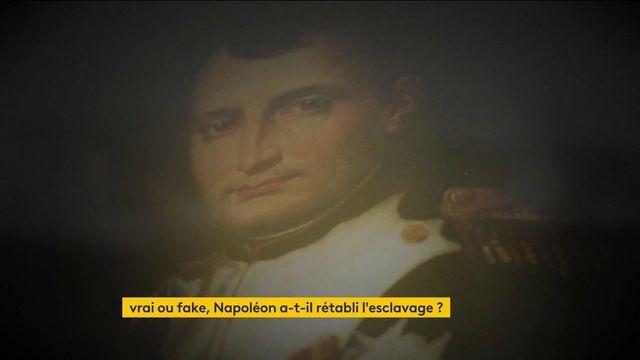 Napoléon Bonaparte : a-t-il rétabli l'esclavage ?