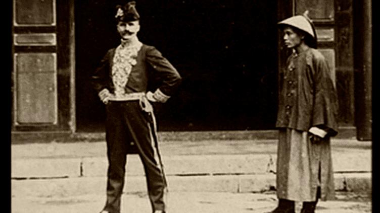 Auguste François aimait se mettre en scène  (Association Amitiés Franco-Chinoises Nancy)
